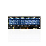keyestudio 8 canale 5v releu modul pentru arduino pic avr mcu dsp braț electronic