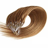 Loop Hair Extension Grammy 16-24Inch Micro Loop Ring 100% Real Remy Human Hair Extensions 50g 100s/Pack