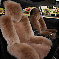 cheap -1PC Car Australian Sheepskin Front Seat Cover