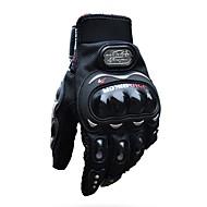 pro-biker fuld finger motorcykel airsports ridning racing taktiske handsker auto motor beskyttelse cykling sport handsker mcs-01c sort