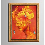 Dyr abstrakt Innrammet Lerret Innrammet Sett Veggkunst,PVC Materiale med ramme For Hjem Dekor Rammekunst Stue Kjøkken Spisestue Soverom