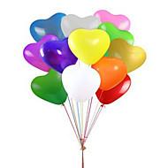fest balloner hjerte balloner 12 tommer latex balloner 100 pakker til børn festartikler bryllup dekoration baby shower eller fødselsdag