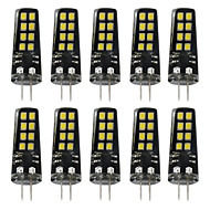 billige Bi-pin lamper med LED-3W G4 LED-lamper med G-sokkel 16 leds SMD 2835 Varm hvit Hvit 200lm 3000-3500  6000-6500K DC 12V