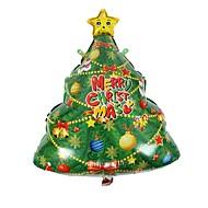 1 stuks kerstboom decoratie kerstfeest ballon aluminium ballonnen