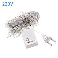 billiga Belysning-Ljusslingor 100 lysdioder Varmvit RGB Vit Vattentät Färgskiftande 220V 110V