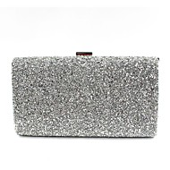 cheap Wedding Bags-Women's Bags PU Evening Bag Beading for Wedding Event/Party All Seasons Gold Black Silver