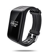 ips sr10 farverige oled smart armbånd blodtryk ilt hjertefrekvens monitor bluetooth alarm fitness tracker aktivitet ringe sms alarm