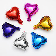 6pcs / lot 5inch star love balloon multicolour 5 kleine schattige sterfolieballon