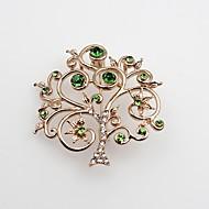 Herre Dame Brocher Imiteret Diamant Mode Klassisk Legering Smykker Smykker Til Fest Jul