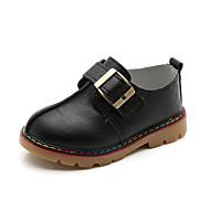 baratos Sapatos de Menino-Para Meninos Sapatos Sintético Outono / Inverno Conforto / Mocassim Mocassins e Slip-Ons Presilha para Bege / Cinzento / Marron