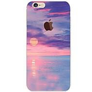 Käyttötarkoitus iPhone 7 iPhone 7 Plus kotelot kuoret Ultraohut Läpinäkyvä Kuvio Takakuori Etui Scenery Pehmeä TPU varten Apple iPhone 7