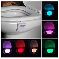 badkamer toilet nachtlampje led lichaamsbeweging geactiveerd aan / uit stoel sensorlamp pir toilet nachtlampje lamp