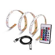 0.5m usb port lampa páska led páska světlo rgb ip65 vodotěsná stuha 5050 smd pro tv pozadí dekorativní osvětlení lucerna ohebný pás dc5v