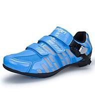 Masculino sapatos Micofibra Sintética PU Outono Inverno Conforto Tênis Ciclismo Para Atlético Preto Vermelho Azul