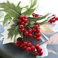 1 Stuk 1 Tak Polyester Overige Bloemen voor op tafel Kunstbloemen