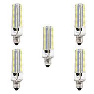 8W E14 Lâmpadas Espiga 152 SMD 3014 700 lm Branco Quente Branco 3000-3500  6000-6500 K Regulável AC110 AC220 V