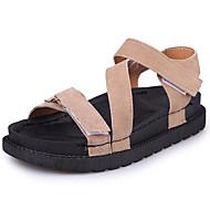 זול סנדלי נשים-נשים נעליים גומי קיץ נוחות סנדלים הליכה מטפסים אבזם עבור שחור חאקי