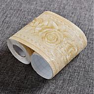 Blomstret Tapet til Hjemmet Moderne / Nutidig Tapetsering , PVC/Vinyl Materiale Selvklebende bakgrunns , Tapet