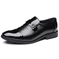 ieftine -Bărbați Pantofi PU Toamnă / Iarnă Pantofi formale pantofi de nunta Negru / Nuntă / Pantofi formali