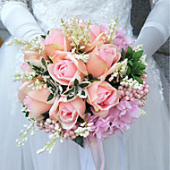 """Wedding Flowers Bouquets Wedding Polyester 9.84""""(Approx.25cm)"""