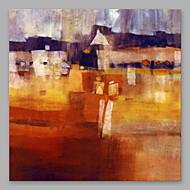 Ručně malované Abstraktní umělecké Jeden panel Plátno Hang-malované olejomalba For Home dekorace