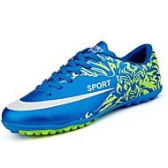 baratos Sapatos Masculinos-Homens Solas Claras Couro Ecológico Primavera / Outono Tênis Futebol Amarelo / Vermelho / Azul / Atlético / Cadarço