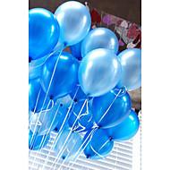 20 buc / set baloane de aer latex 10 inch balon circular colorat gonflabil
