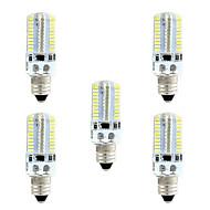 billige -4W LED-kornpærer 80 SMD 3014 360 lm Varm hvit Hvit 3000-3500  6000-6500 K Mulighet for demping AC110 AC220 V