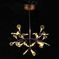 נברשות ,  מודרני / חדיש סגנון חלוד/בקתה וינטאג' גס Brass מאפיין for LED מתכת חדר שינה חדר אוכל חדר עבודה / משרד חדר ילדים