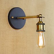 billige Vegglamper-Nedlys 40W 110V-220V 220V-240VV E27 E26 Tiffany Rustikk/ Hytte Antikk Enkel LED Vintage Moderne / Nutidig Retro Rød Traditionel /