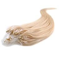 100-kertaiset mikro-silmukka-renkaat helmet kallistetut remy-hiuslisäkkeet suora tyyli 17 väriä toimittavat naiset tekevät kauneuden