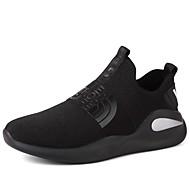 baratos Sapatos de Tamanho Pequeno-sapatos Courino Outono Conforto Caminhada Combinação para Preto