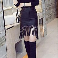 Žene Vitko Bodycon Classic & Timeless Suknje - Jednobojni