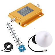abordables -Lcd wcdma 2100 mhz signal amplificateur wcdma umts 3g signal répéteur téléphone portable amplificateur de signal
