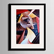 abstrakt fantasi fritid Innrammet Lerret Innrammet Sett Veggkunst,PVC Materiale med ramme For Hjem Dekor Rammekunst Stue Kjøkken