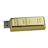 16gb ssb flash drive ouro de ouro ouro usb 2.0 unidade de memória flash stick u pen drive