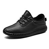 Masculino sapatos Borracha Outono Inverno Conforto Tênis Cadarço Para Branco Preto Vermelho