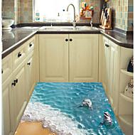 Tiere Wand-Sticker 3D Wand Sticker 3D Stoff Haus Dekoration Wandtattoo