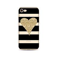 Carcasă Pro Apple iPhone X iPhone 8 Vzor Zadní kryt Vlnky Srdce Třpytivý Měkké TPU pro iPhone X iPhone 8 Plus iPhone 8 iPhone 7 Plus