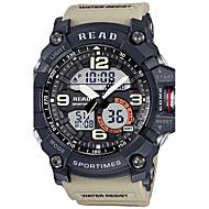 billige Quartz-Herre Dame Quartz Digital Watch Armbåndsur Militærur Japansk Hot Salg Gummi Bånd Vedhæng Sort Blåt Grøn Kaki