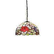 billige Takbelysning og vifter-diameter 30cm tiffany anheng lys glass lampe skygge stue soverom spisestue barn rom lysarmatur