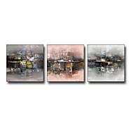 Arkitektur Innrammet Kunstrykk Veggkunst,Stål Materiale med ramme For Hjem Dekor Rammekunst Stue