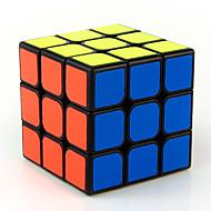 Rubik's Cube 3*3*3 Cubo Macio de Velocidade Cubos mágicos Brinquedo Educativo Antiestresse Cubo Mágico Adesivo Liso Quadrada Dom