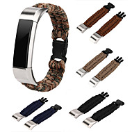 billiga Smart klocka Tillbehör-Klockarmband för Fitbit Alta HR Fitbit Alta Fitbit ionic Fitbit Modernt spänne Nylon Handledsrem
