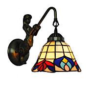 billige Vegglamper-OYLYW Tiffany / Rustikk / Hytte / Antikk Vegglamper Metall Vegglampe 110-120V / 220-240V 60W