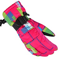 Skihandschuhe Herrn Damen Vollfinger warm halten Schützend Stoff Baumwolle Winter