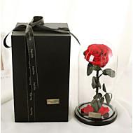 billige Kunstige blomster-1 Gren Tørrede Blomster Evige blomster Bordblomst Kunstige blomster