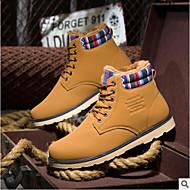 Herre sko Griseskinn Vår Høst Komfort Støvler Til Avslappet Svart Gul Blå