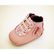 赤ちゃん 靴 PUレザー 秋 冬 コンフォートシューズ 赤ちゃん用靴 ブーツ 用途 カジュアル レッド グリーン