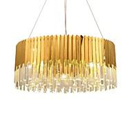 billige Takbelysning og vifter-LED Chic & Moderne Moderne / Nutidig Krystall Pære Inkludert Forlenget Anheng Lys Omgivelseslys Til Soverom Leserom/Kontor Innendørs